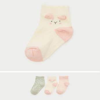 Set of 3 - Patterned Socks