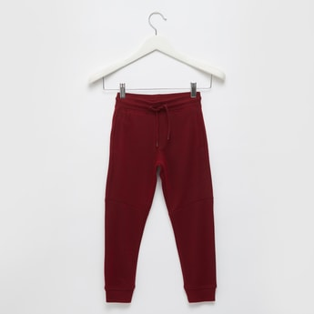 Full Length Grindle Pique Knit Jog Pants with Pocket Detail