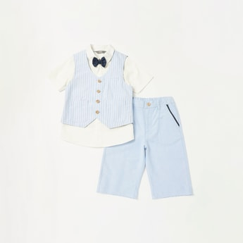 Striped 3-Piece Apparel Set