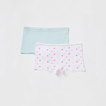 Set of 2 - Briefs with Elasticated Waistband