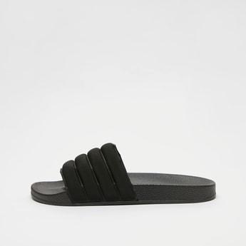 Solid Slip-On Slide Slippers