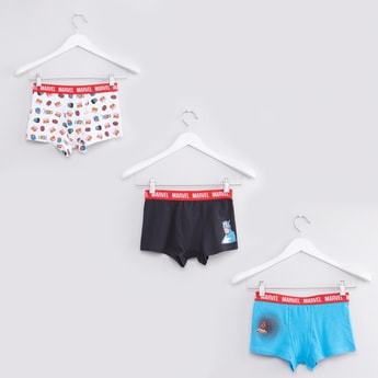 Set of 3 - Avengers Printed Trunks with Elasticised Waistband