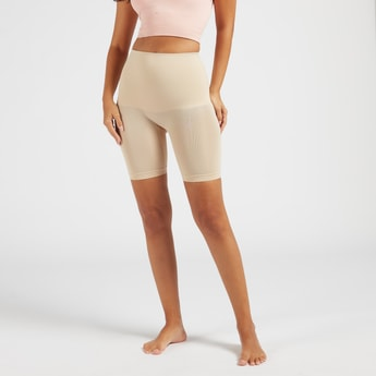 Solid Leg Shaper with Elasticised Waistband