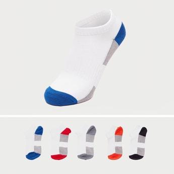 Set of 5 - Colourblock Ankle Length Socks