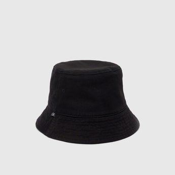 Solid Cotton Hat with Eyelets