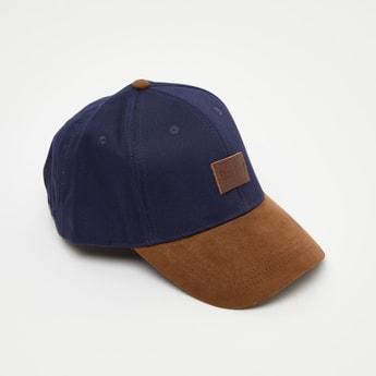 Solid Colour Block Baseball Cap