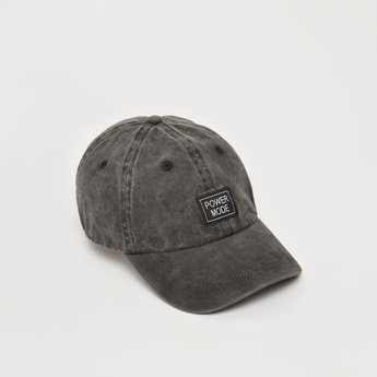 Textured Cap with Plate Buckle Closure
