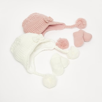 Set of 2 - Caps and Gloves