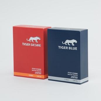 Set of 2 - Tiger Eau De Toilette Perfume