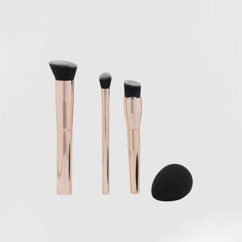 Make-Up Brush and Blending Sponge Set