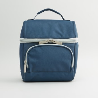 Plain Lunch Bag with Zip Closure