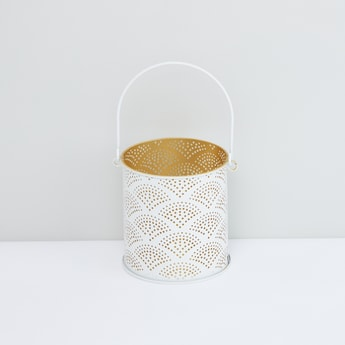 Perforated Lantern with Handle