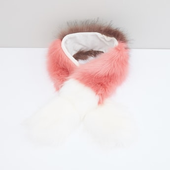 Plush Collar Scarf