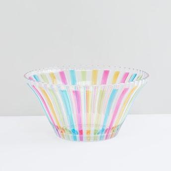 Striped Round Bowl