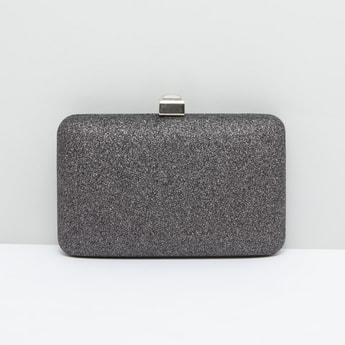 حقيبة كلاتش بسلسلة قابلة للفصل