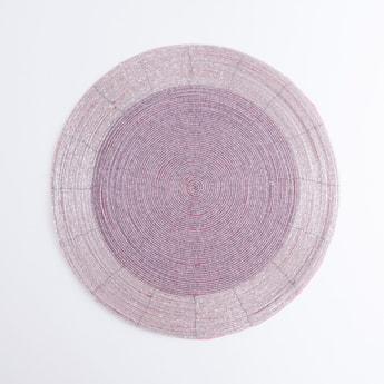 Beaded Circular Placemat