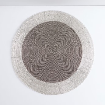 Beaded Round Placemat