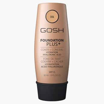 Gosh Foundation Plus with SPF 15 - 30 ml