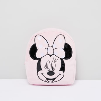 Minnie Mouse Textured Backpack