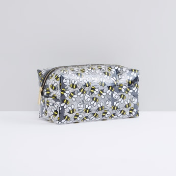 Printed Pouch with Zip Closure
