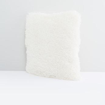 Plush Detailed Sqaure Filled Cushion