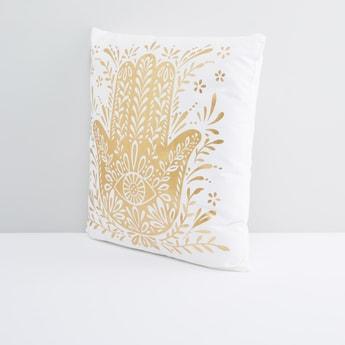 Fatima Hand Printed Filled Cushion