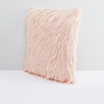 Fleece Textured Filled Cushion