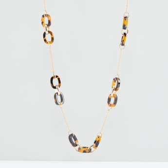 Loop Detail Necklace with Lobster Clasp