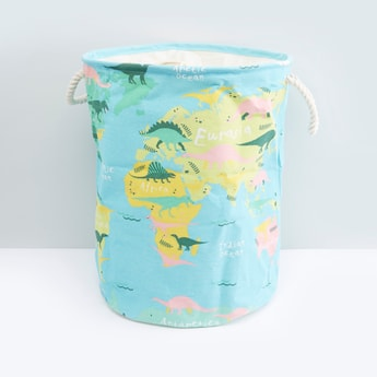 Printed Laundry Hamper with Handles