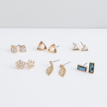 Assorted Stud Earring - Set of 6