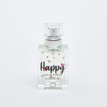 Happy Eau De Parfum Fragrance Bottle - 20 ml
