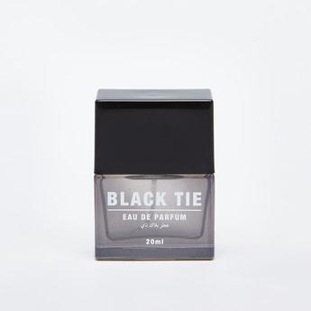 Black Tie Eau De Parfum Fragrance Bottle - 20 ml