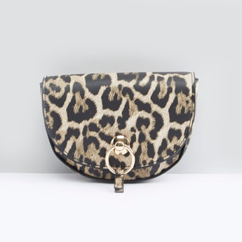 حقيبة حزام بطبعات حيوانات
