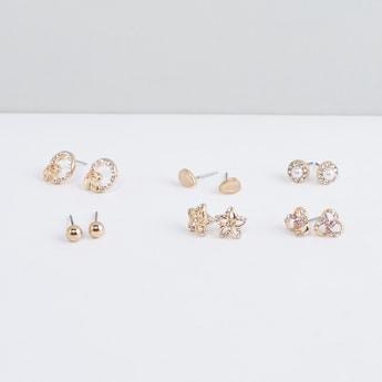 Metallic Earrings - Set of 6