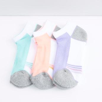 Set of 3 - Striped Sports Socks