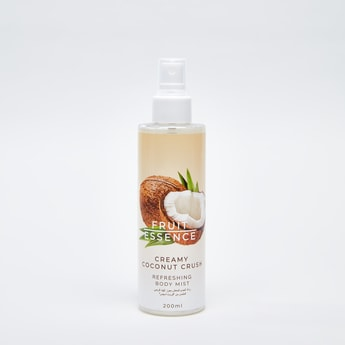 Fruit Essence Creamy Coconut Crush Refreshing Body Mist - 200 ml