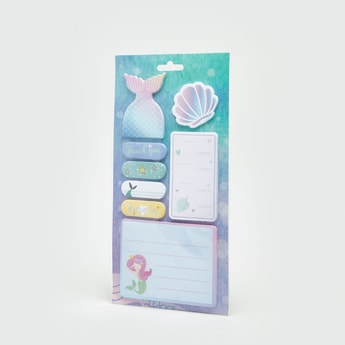 Mermaid Printed Sticky Notes