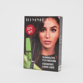 Rimmel Scandaleyes Flex Mascara and Exaggerate Liquid Liner