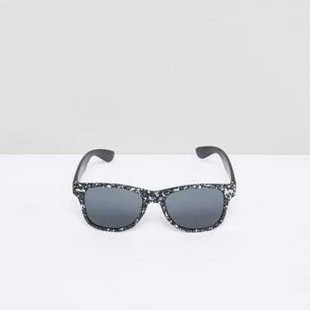 Printed Full Rim Wayfarer Sunglasses