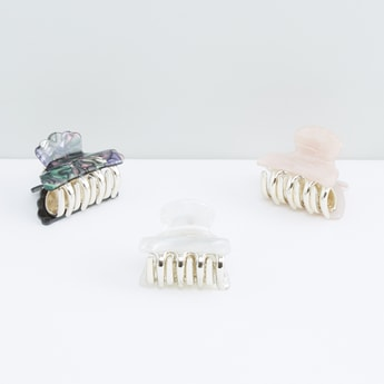 Assorted Hair Clamp - Set of 3