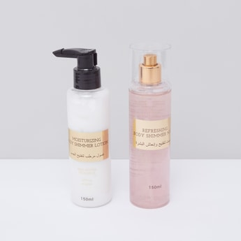Body Shimmer Lotion and Mist Set - 150 ml