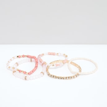 Assorted Studded Bracelet - Set of 5