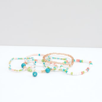 Beaded Bracelets - Set of 6