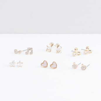 Assorted Earrings Multipack - Set of 6