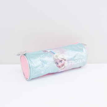 Frozen Print Cylindrical Pencil Case