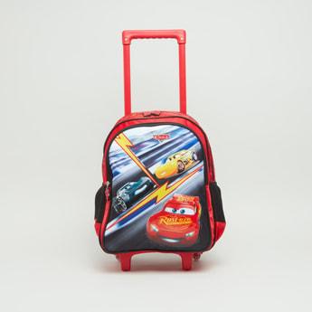 حقيبة ظهر بعجلات مع طبعات كارز