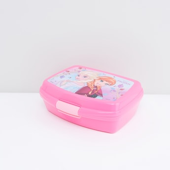 Frozen Printed Lunch Box with Snap Lock Closure
