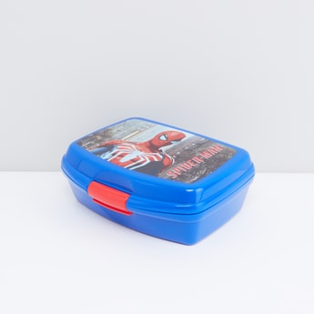 Spider-Man Printed Lunchbox with Clip Lock
