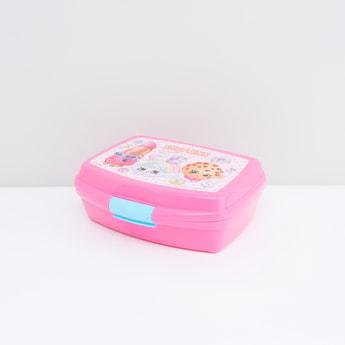 صندوق غداء بغطاء وطبعات شوبكينز