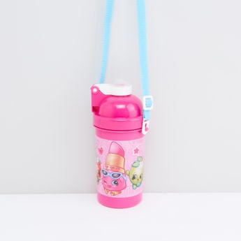 Printed Water Bottle with Strap
